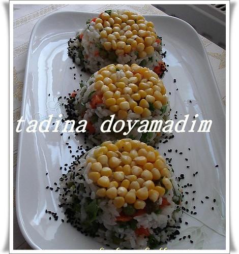 pirinç salatası (çin salatası)