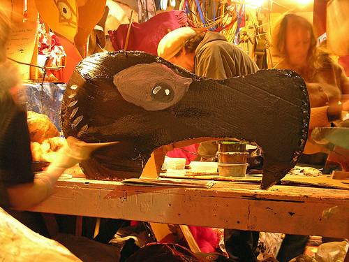 MayDay 2011 dodo paint
