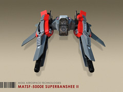 MATSF-5000E Superbanshee II (Red Spacecat) Tags: toy fighter lego space banshee scifi moc microspace starfighter microspacetopia superbanshee