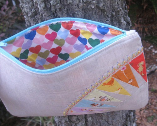 Inside of Pretty {little} pouch
