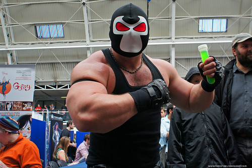 Kapow! Comic Con : Cosplay - Bane this guy won the Cosplay Competition by Craig Grobler