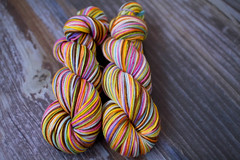 'ellie's rainbow' Sequoia superwash merino
