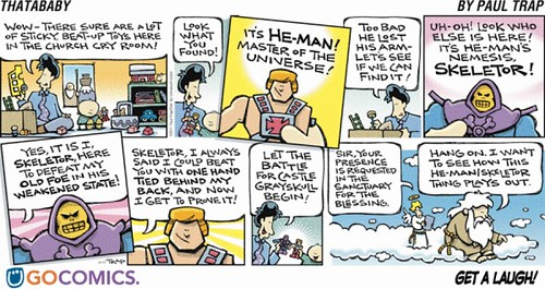 he-man comic strip