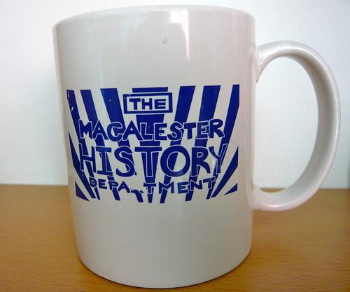 Macalester History Dept mug