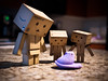 (greenplasticamy) Tags: food easter lumix amazon purple candy mini chick panasonic cardboard marshmallow micro chicks peep 20mm peeps 43 confection justborn danbo amazoncojp gf1 mft revoltech danboard micro43 microfourthirds minidanboard minidanbo dmcgf1