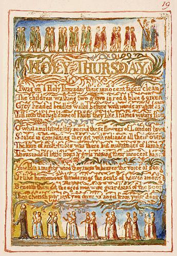 "William Blake's ""Holy Thursday"""