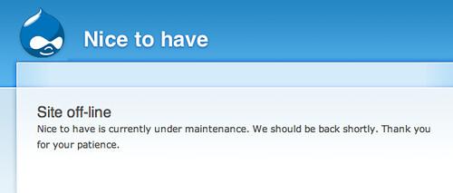 PSA site harpooned