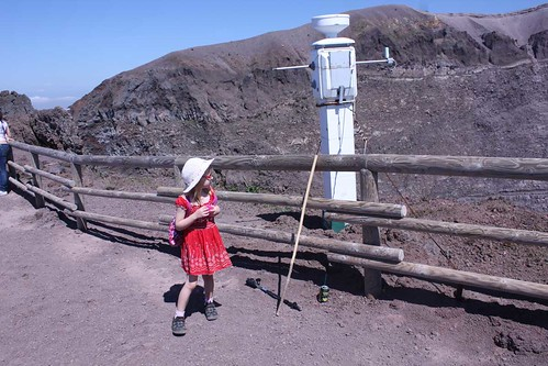 Equipment for measuring the volcano