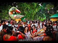 celebration pohela boishakh 1418 Dhaka Bangladesh (Shabbir Ferdous) Tags: light people woman color colour dance women colorful photographer shot celebration bangladesh bangla 1418 bengali bangladeshi pohelaboishakh april14 ramna nababarsho noboborsho shuvonoboborsho ef1635mmf28liiusm poilaboishakh shubhonoboborsho charukola shabbirferdous banglacalendar boishakhiparade banglagirls bdgirls celebrationinbangladesh canoneos1dmarkiv batamul botmul chayanot wwwshabbirferdouscom shabbirferdouscom