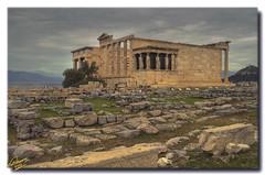 Erechtheum ... 3 HDR (Emil9497 Photography & Art) Tags: ancient flickr hellas athens greece estrellas hdr erechtheum akropolis d90 nikond90 mygearandme emilathanasiou emil9497photographyart