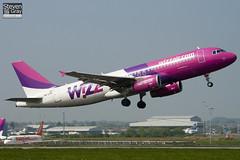 HA-LPK - 3143 - Wizzair - Airbus A320-232 - Luton - 110419 - Steven Gray - IMG_4124
