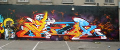 AROE MSK HA. DUBLIN ALL CITY JAM. (Heavy Artillery) Tags: uk dublin irish english graffiti brighton letter artillery msk ha heavy 7th ironlak