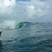 Teahupoo from the Dingy