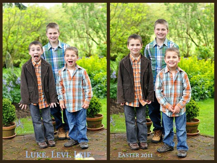 Boys ~ Easter 2011