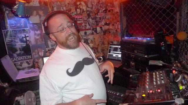 Jeb DJing