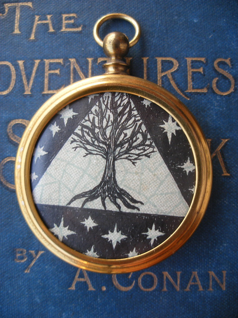 "Fob Pendant- ""Cosmic Branches"""