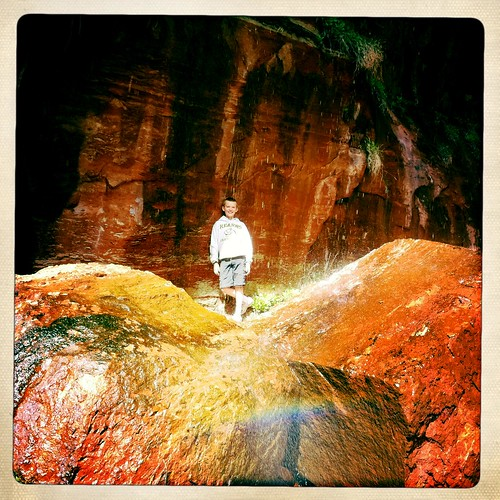 Zion - Lower Emerald Pools