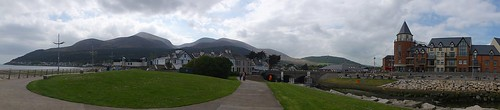 Newcastle and the Mourne Mountains Panorama