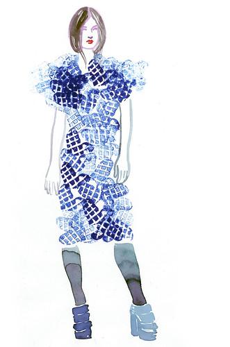 heart dress girl
