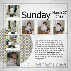 March 27, 2011 (flakyredhead) Tags: scrapbook aiden load digiscrapping layoutaday