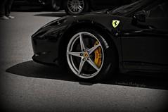 458 Detail (Lawntech Photography) Tags: car nikon italia automotive ferrari monaco supercar v8 d300 berlinetta 458 2011 hypercar