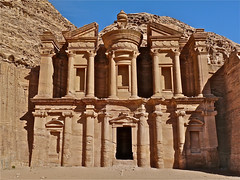 A World Wonder. By Ian Layzell (IANLAYZELLUK) Tags: old city beautiful temple carved sand ancient ruins asia desert tomb petra ruin middleeast cities carving jordan monastery temples deserts tombs jordanian middleeastern rockcarving ancientcity addeir cityofpetra nabataeans carvedfromrock november2010 beautifulcarving ianlayzell addeirmonastery aworldwonder beautifultomb