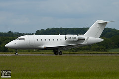 OY-GBB - 5732 - Execujet Europe - Canadair CL-600-2B16 Challenger 605 - Luton - 100607 - Steven Gray - IMG_3309