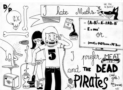 I Hate Maths - McBess contest - by Nck