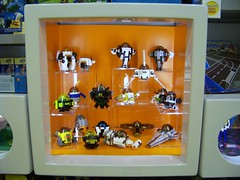 LEGO - LUG Showcase aka Window into the Community (Slayerdread) Tags: starwars pod display toystory frog moc blacktron marsmission