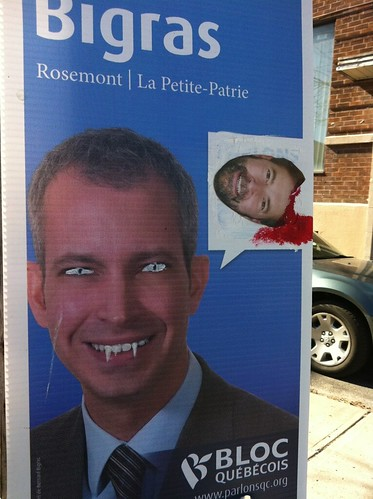 Street art and politics in Montreal