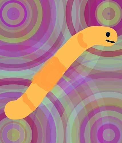 Stick figure worm