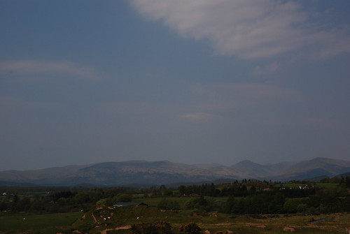 Looking north to the Trossachs, near Drymen