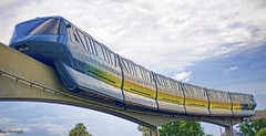 Tronorail (Explored) (Ray Horwath) Tags: 50mm epcot nikon disney disneyworld monorail nikkor wdw waltdisneyworld disneytransportation nikkorlens horwath d700 nikkor50mmf14lens disneyphotos rayhorwath disneymonorails tronorail tronmonorail