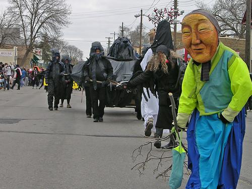 MayDay 2011 parade beginning