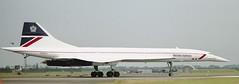 BAC-Aerospatiale Concorde (Nigel Musgrove-2.5 million views-thank you!) Tags: concorde british 1994 airways raf fairford riat gboac bacaerospatiale