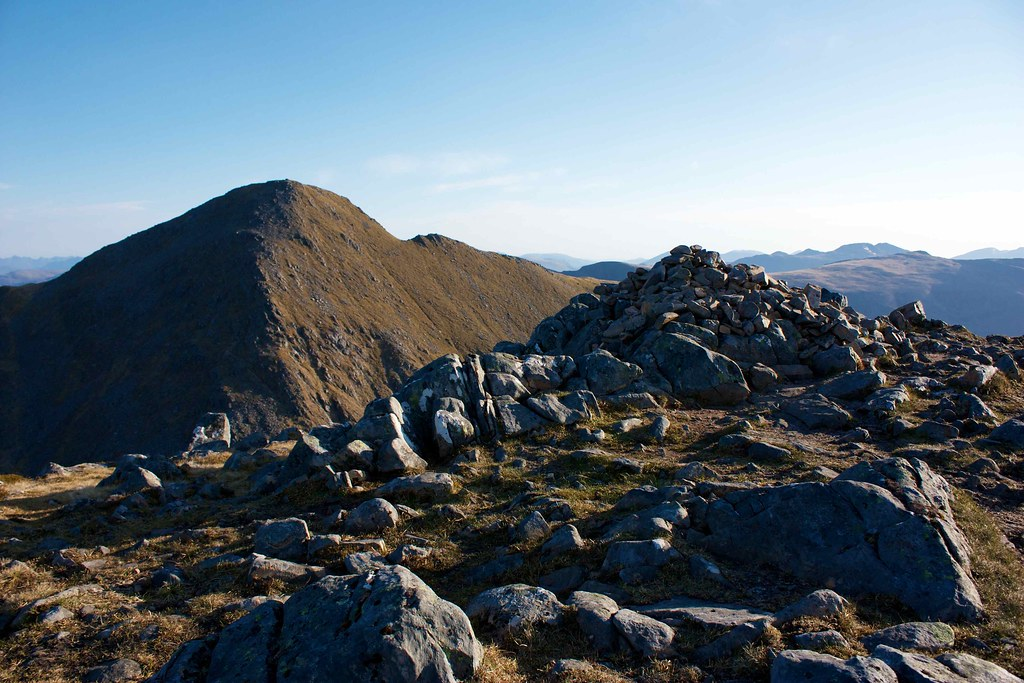 Summit of Sgurr na Carnach