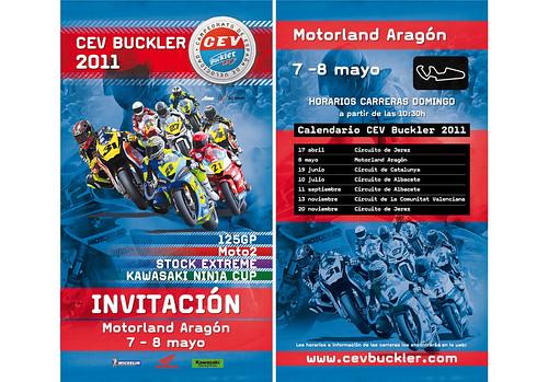 Entradas Cev Buckler 2011 Circuito Motorland