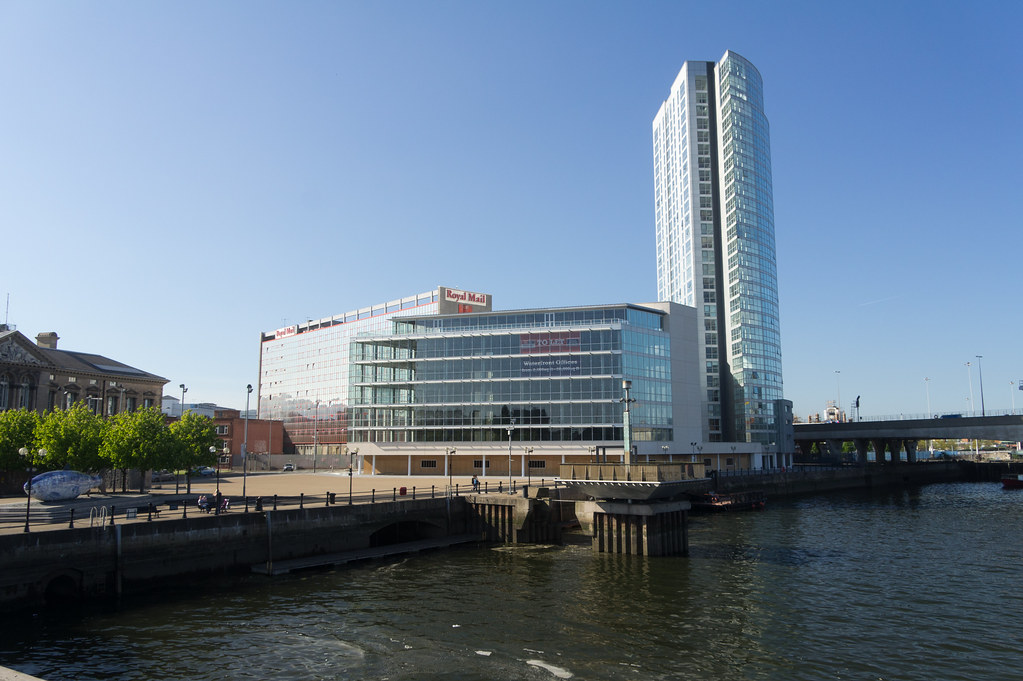 The Obel Tower is a small skyscraper  in Belfast