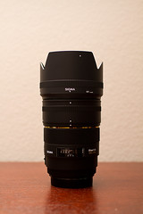 Sigma 85 w/ APS-C Hood Extension