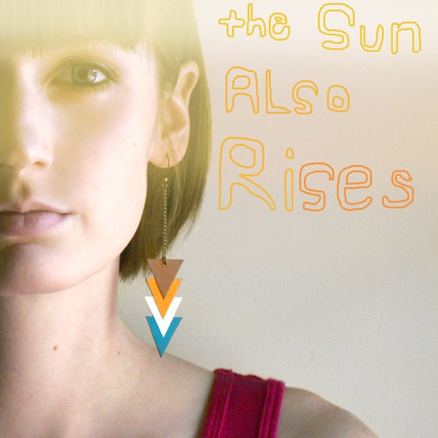 The Sun also Rises Earrings