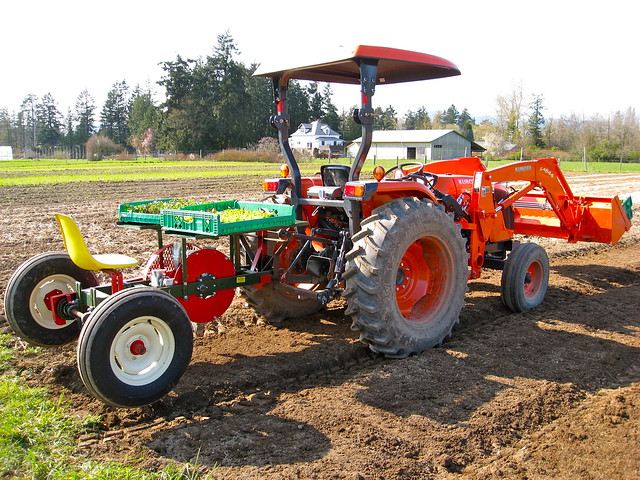 Tractor + Transplanter