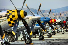 Mustang Props (mvonraesfeld) Tags: show california ca museum plane airplane nose aircraft aviation air mustang warbirds prop spinner chino cno p51 planesoffame 2011 calaerofield img0959 nortamerican