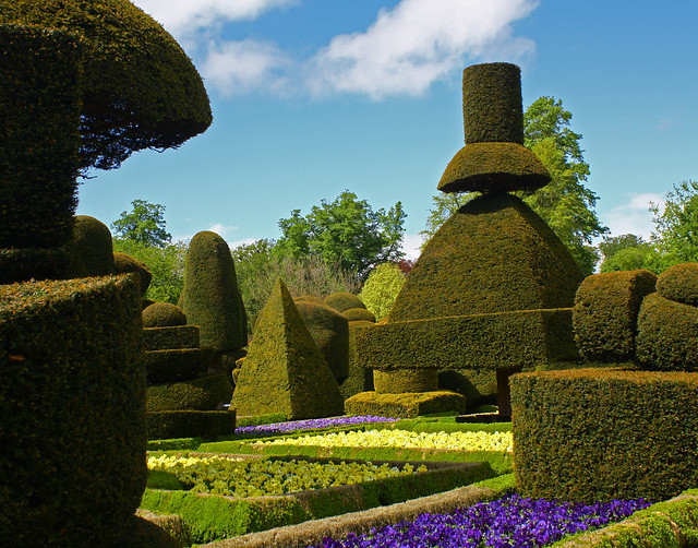 Levens Hall, Cumbria - topiary garden