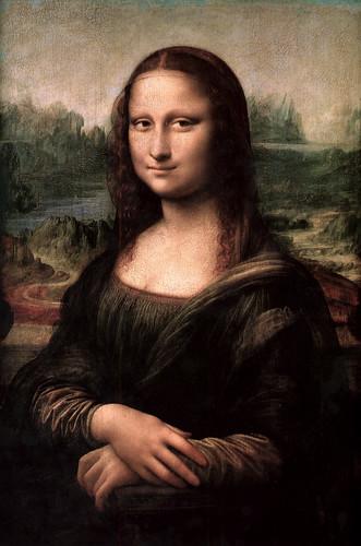 Mona Lisa re-adjusted