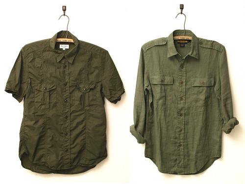 Olive Shirts