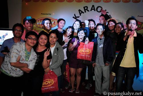 KWC karaoke bloggers