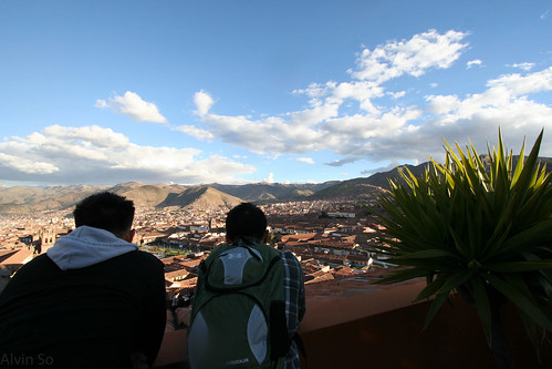 Cusco Hostel Rooftop View