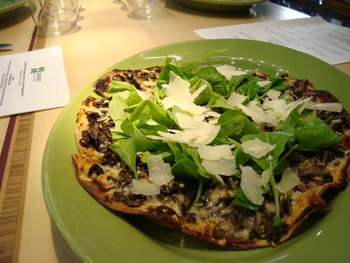 """Wild Mushroom """"Pizza"""""""