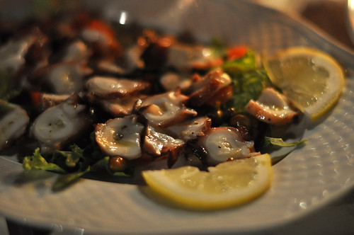 Blækspruttesalat