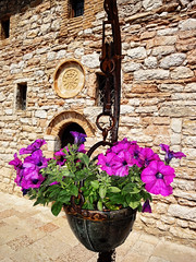 Seen in Perugia, Italy... (williamcho) Tags: travel vacation italy holiday rome photoshop worship johnpaulii religion ngc churches placesofworship stpeterssquare perugia prayers catholics digitalenhancement flickraward topazlabadjust williamcho sonydscwx1 flickrtravelaward patrickcheah beautificationceremony